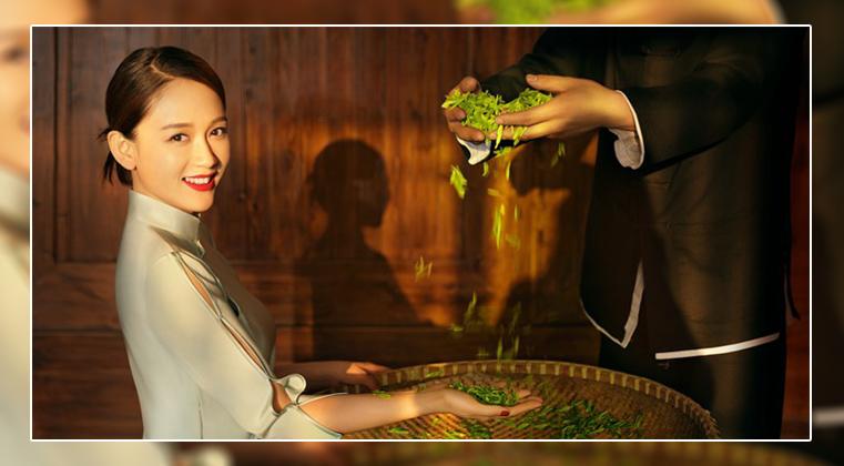 小罐茶联手陈漫、陈乔恩的时尚大片